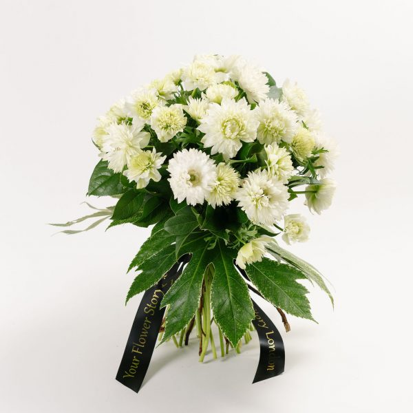 Luxury bouquet with Star white Anemone
