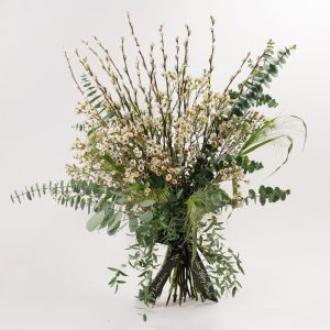 White Garden Flower Bouquet