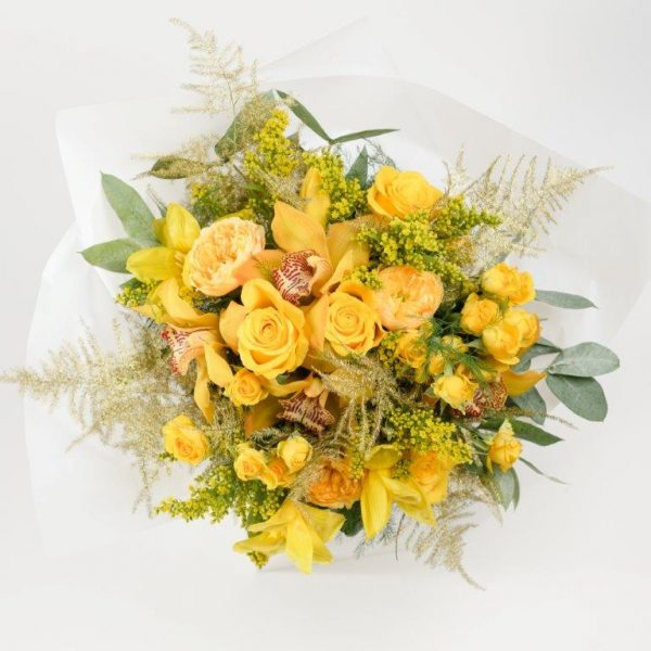 24k Gold Flower Bouquet From Your Flower Story London - Flower Delivery Barnet and North London (69)