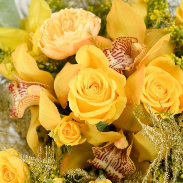 24k Gold Flower Bouquet From Your Flower Story London - Flower Delivery Barnet and North London (70)