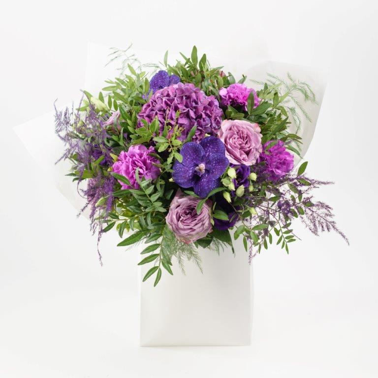 Amethyst Flower Bouquet From Your Flower Story London - Flower Delivery Barnet and North London (123)