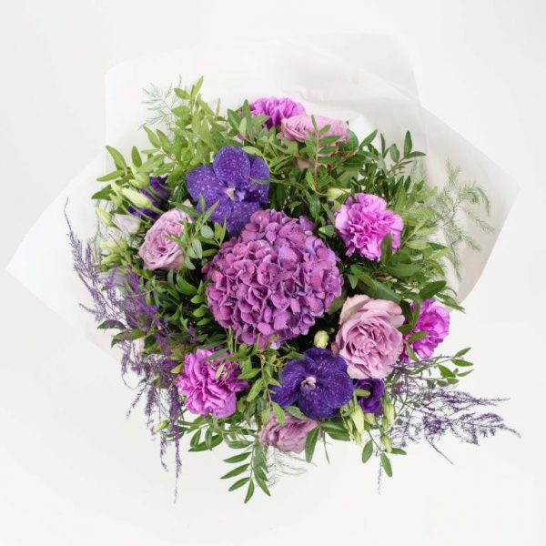 Amethyst Flower Bouquet From Your Flower Story London - Flower Delivery Barnet and North London (124)