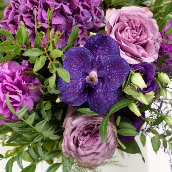 Amethyst Flower Bouquet From Your Flower Story London - Flower Delivery Barnet and North London (125)