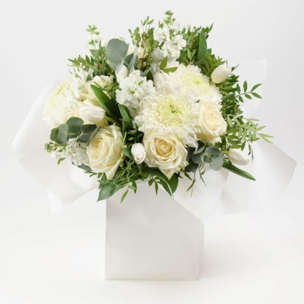 Blanc Flower Bouquet by Your Flower Story London - Flower Delivery Barnet and North London (151)