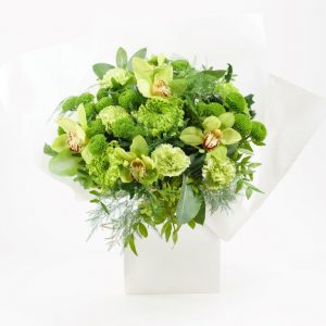 Emerald Flower Bouquet From Your Flower Story London - Flower Delivery Barnet and North London (248)