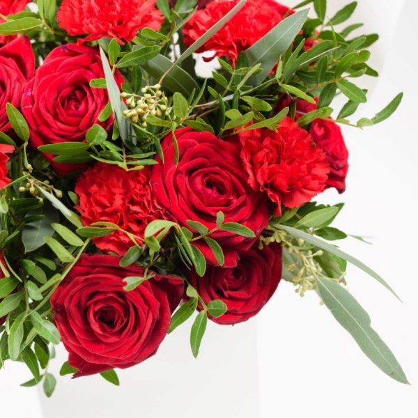 Flower Delivery Barnet and North London - Lady in Red Flowers Bouquet by Your Flower Story London (52)
