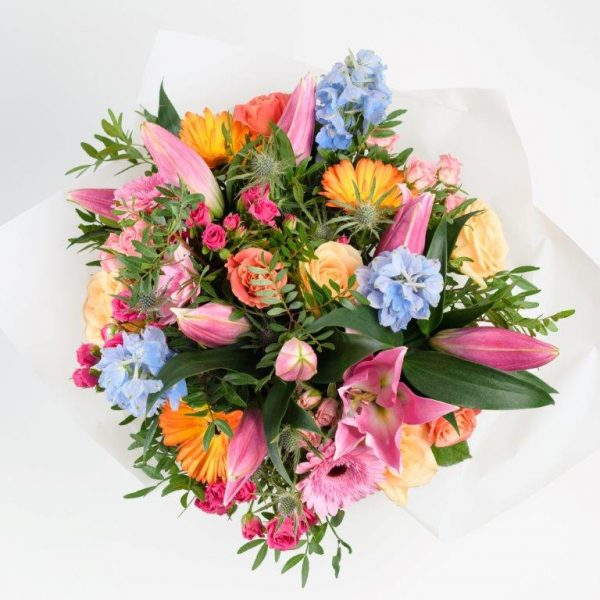 Funky Fresh Flowers Bouquet by Your Flower Story London - Flower Delivery Barnet and North London (21)