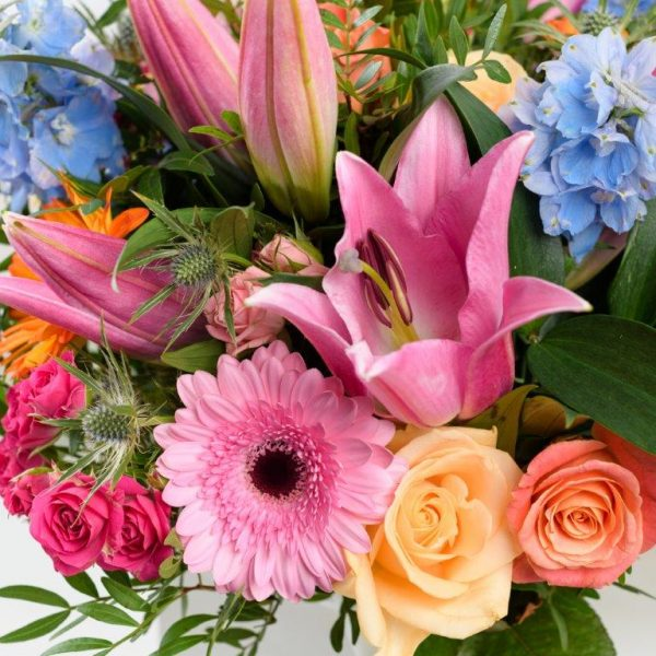 Funky Fresh Flowers Bouquet by Your Flower Story London - Flower Delivery Barnet and North London (24)