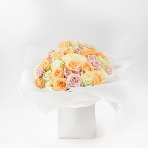 Gold Pearl Flower Bouquet - Flower Shop Barnet North London - Next Day and Same Day Flowers Delivery (228)