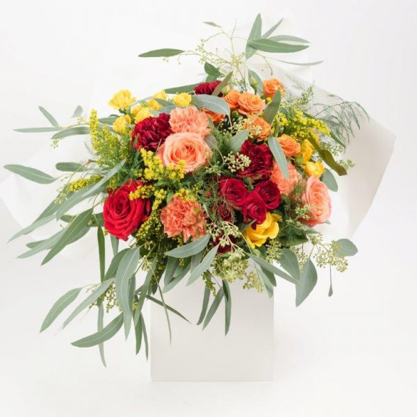 Happy Day Flowers Bouquet by Your Flower Story London - Flower Delivery Barnet and North London (229)