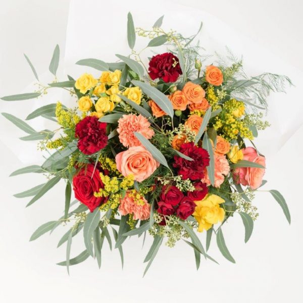 Happy Day Flowers Bouquet by Your Flower Story London - Flower Delivery Barnet and North London (230)