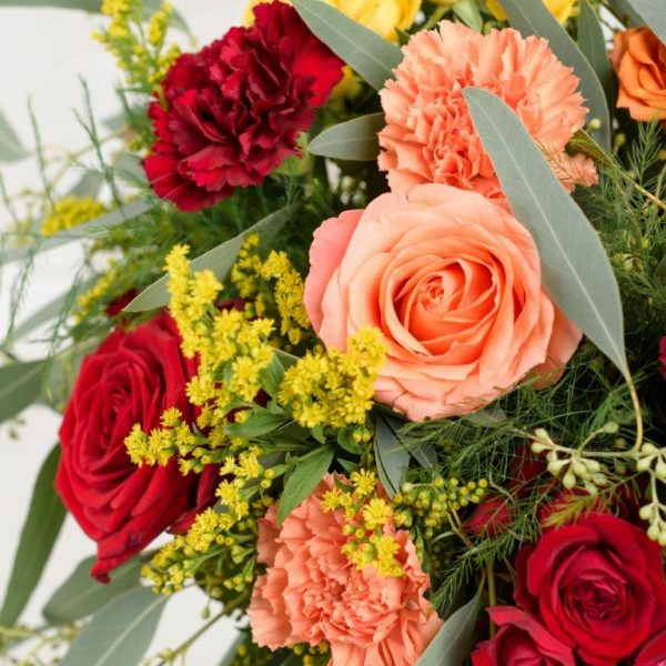 Happy Day Flowers Bouquet by Your Flower Story London - Flower Delivery Barnet and North London (231)