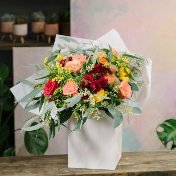 Happy Day Flowers Bouquet by Your Flower Story London - Flower Delivery Barnet and North London (234)