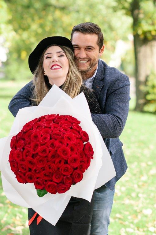 Le Rosè Flower Bouquet From Your Flower Story London - Flower Delivery North London (36)