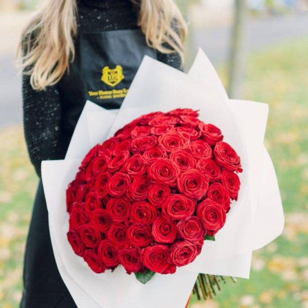 Le Rosè Flower Bouquet From Your Flower Story London - Flower Delivery North London (58)