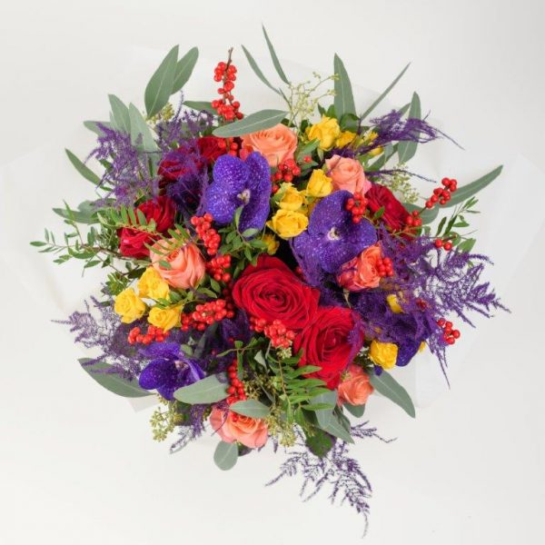 Mrs Mariana Flowers Bouquet by Your Flower Story London - Flower Delivery Barnet and North London (205)