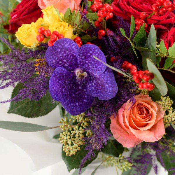 Mrs Mariana Flowers Bouquet by Your Flower Story London - Flower Delivery Barnet and North London (206)
