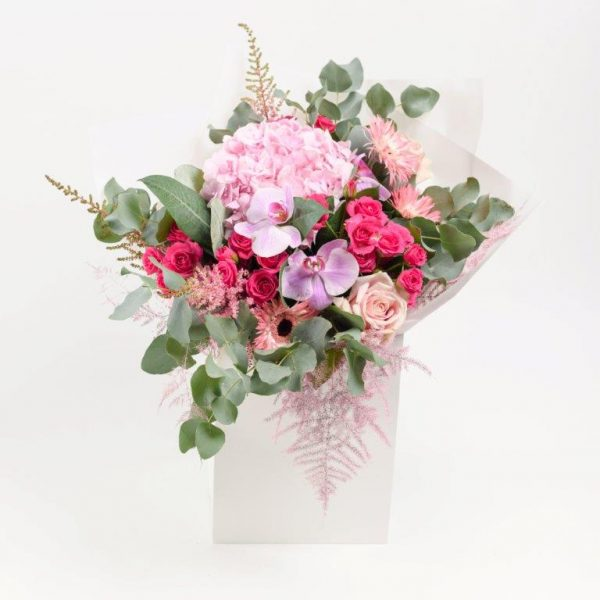 Pink Dimond Flower Bouquet From Your Flower Story London - Flower Delivery Barnet and North London (241)