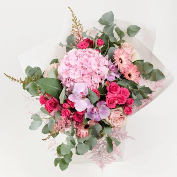 Pink Dimond Flower Bouquet From Your Flower Story London - Flower Delivery Barnet and North London (242)