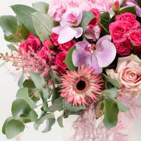 Pink Dimond Flower Bouquet From Your Flower Story London - Flower Delivery Barnet and North London (245)