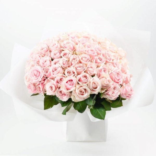 Pink Princess Flower Bouquet By Your Flower Story - Flower Delivery North London (156)