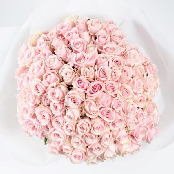 Pink Princess Flower Bouquet By Your Flower Story - Flower Delivery North London (157)