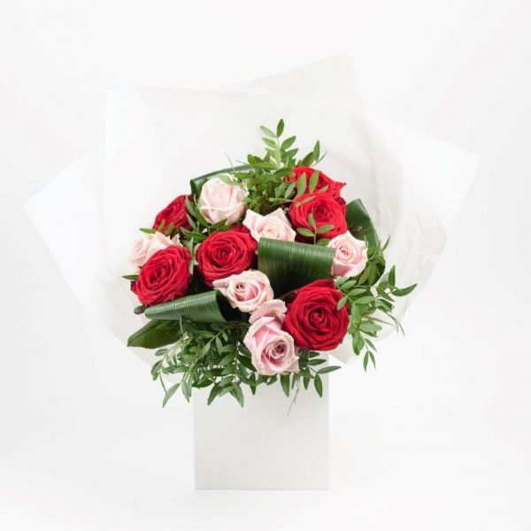 Red & Pink Love Flowers by Your Flower Story London - Flower Delivery Barnet and North London (14)