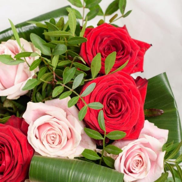 Red & Pink Love Flowers by Your Flower Story London - Flower Delivery Barnet and North London (17)