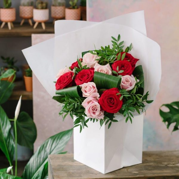 Red & Pink Love Flowers by Your Flower Story London - Flower Delivery Barnet and North London (18)