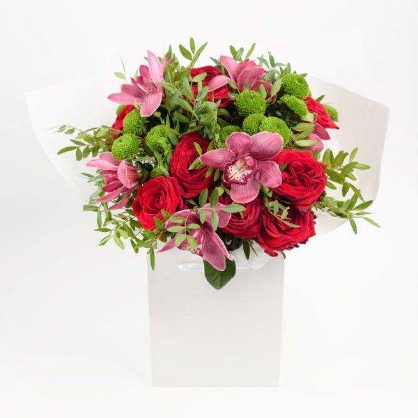 Rose & Orchid Flowers Bouquet by Your Flower Story London - Flower Delivery Barnet and North London (8)