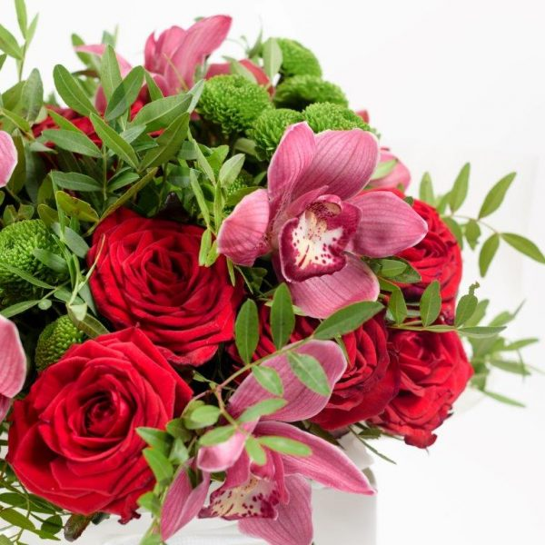Rose&Orchid Flowers Bouquet by Your Flower Story London - Flower Delivery Barnet and North London (11)