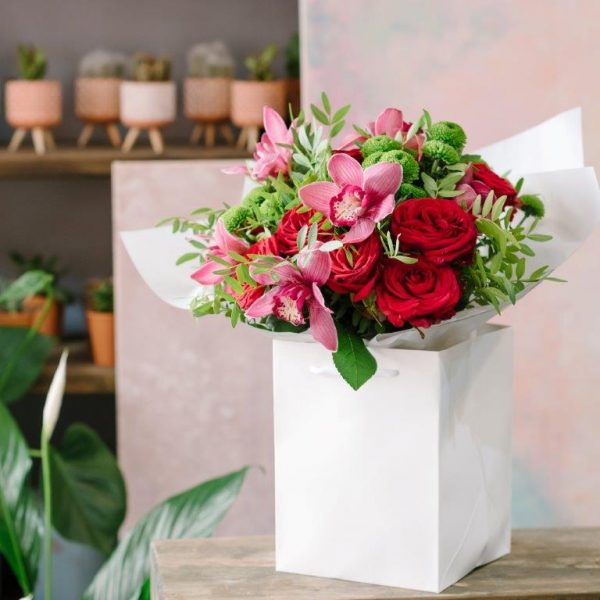 Rose&Orchid Flowers Bouquet by Your Flower Story London - Flower Delivery Barnet and North London (12)