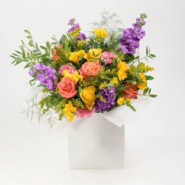 Smiley Flowers Bouquet by Your Flower Story London - Flower Delivery Barnet and North London (215)