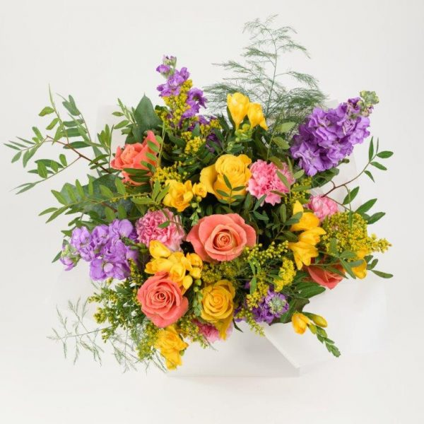 Smiley Flowers Bouquet by Your Flower Story London - Flower Delivery Barnet and North London (216)