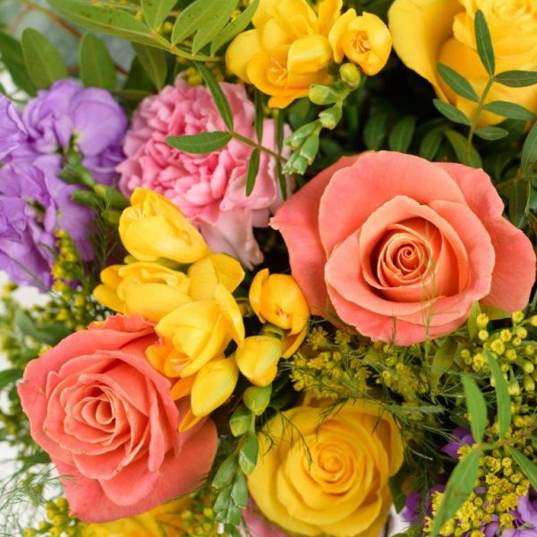 Smiley Flowers Bouquet by Your Flower Story London - Flower Delivery Barnet and North London (219)
