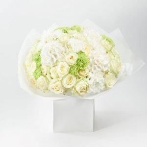 White Elegance Flower Bouquet by Your Flower Story - Flower Delivery North London (162)