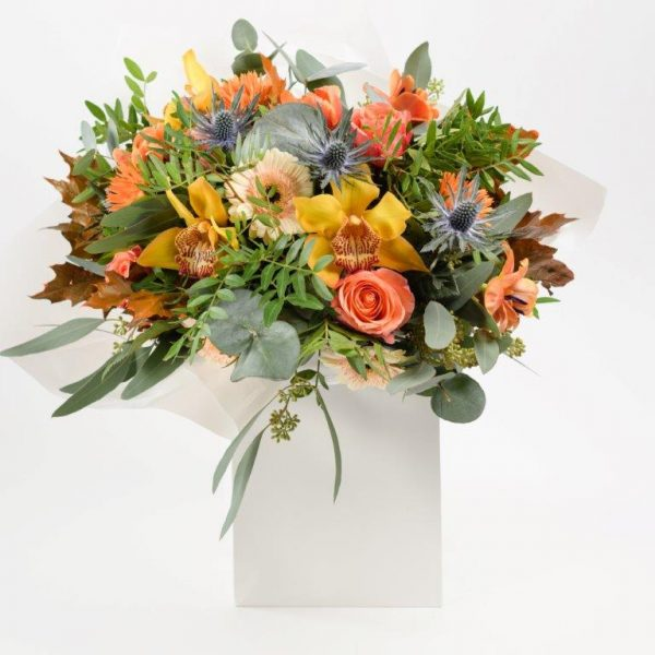 Flower Delivery Barnet and North London - 25 October Shades Flowers Bouquet by YFS (158)