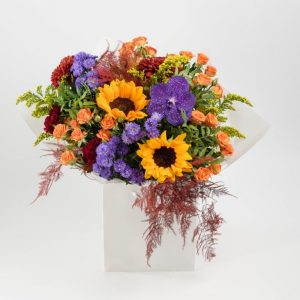 Flower Delivery Barnet and North London - Autumn Vibe's Flowers Bouquet by YFS (135)
