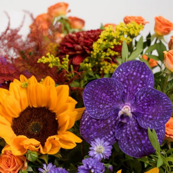 Flower Delivery Barnet and North London - Autumn Vibe's Flowers Bouquet by YFS (140)
