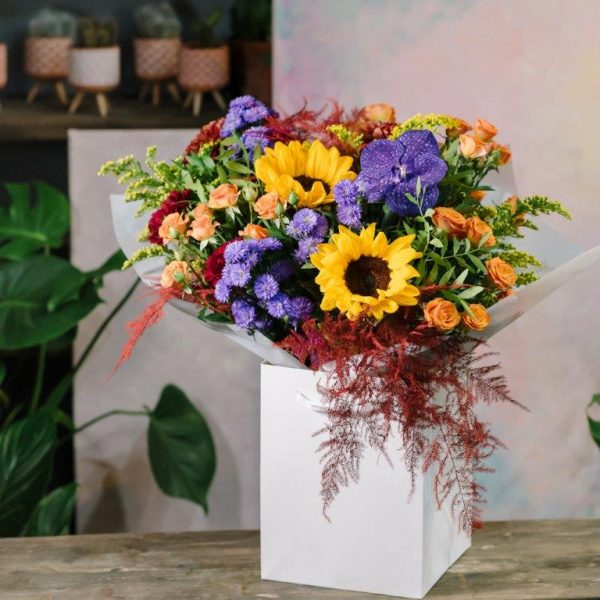Flower Delivery Barnet and North London - Autumn Vibe's Flowers Bouquet by YFS (141)