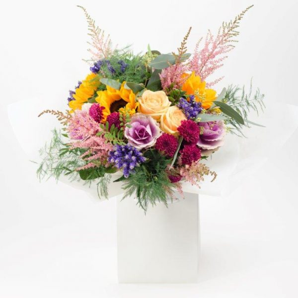 Flower Delivery Barnet and North London - GiraSole Flower Bouquet Delivery London by YFS (222)