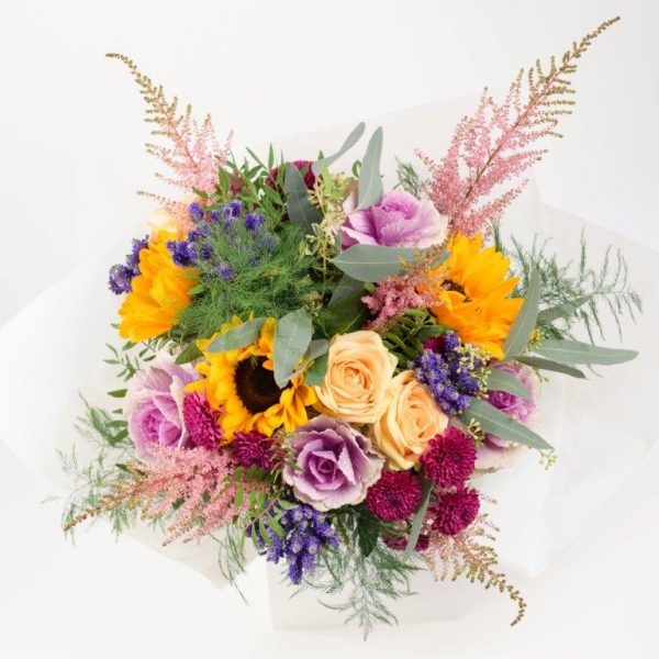 Flower Delivery Barnet and North London - GiraSole Flower Bouquet Delivery London by YFS (223)