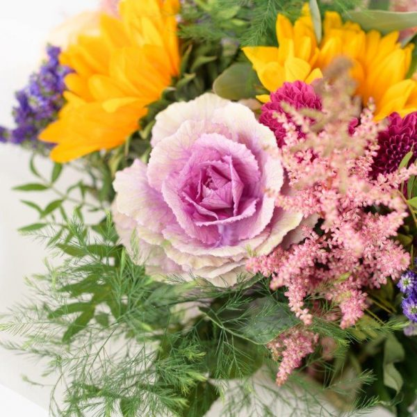 Flower Delivery Barnet and North London - GiraSole Flower Bouquet Delivery London by YFS (224)